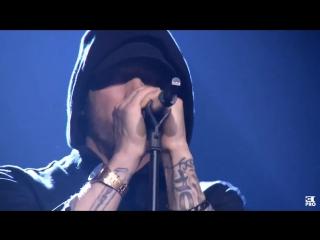Eminem and skylar grey - walk on water (live at mtv europe music awards)
