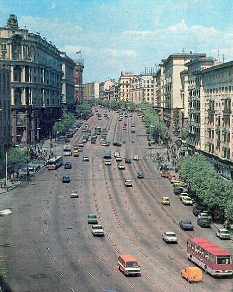 Час пик в столице, 1980 год