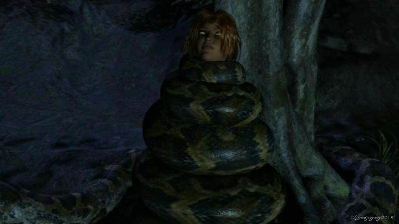 Gorgogorgo Deviantart - Snake Snack