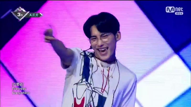 PERFORMANCE | 21.06.18 | A.C.E - Take Me Higher @ Mnet M COUNTDOWN