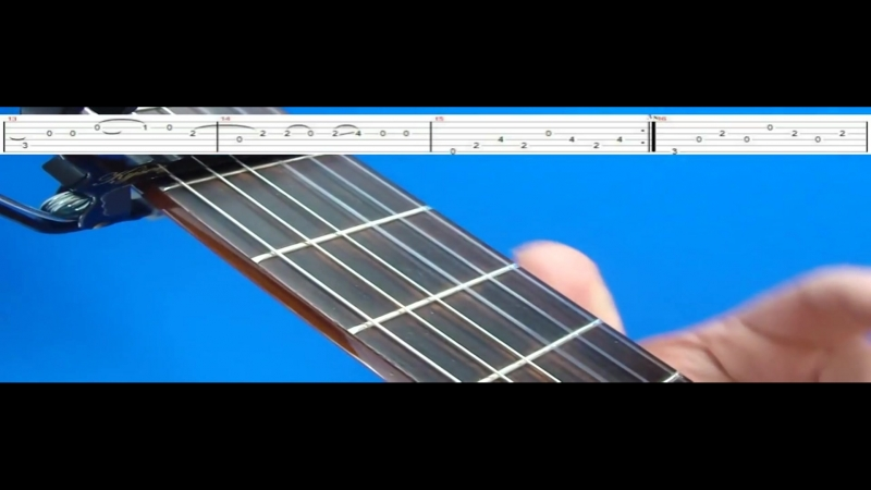 EVERY BREATH YOU TAKE GUITAR LESSON 2 (TAB ON SCREEN)