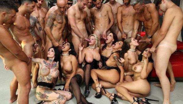 Uncategorized - Porn School Orgy: Double Anal Training