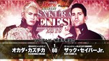 Промо-ролик к матчу Казучики Окады и Зака Сейбра Младшего на Sakura Genesis 2018