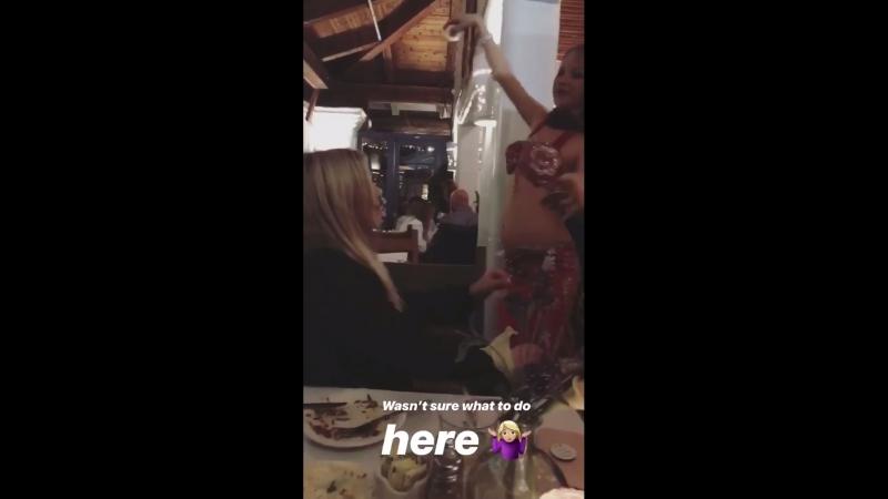 Личное видео ›› публикация Тани Рэд в «Instagram Stories».