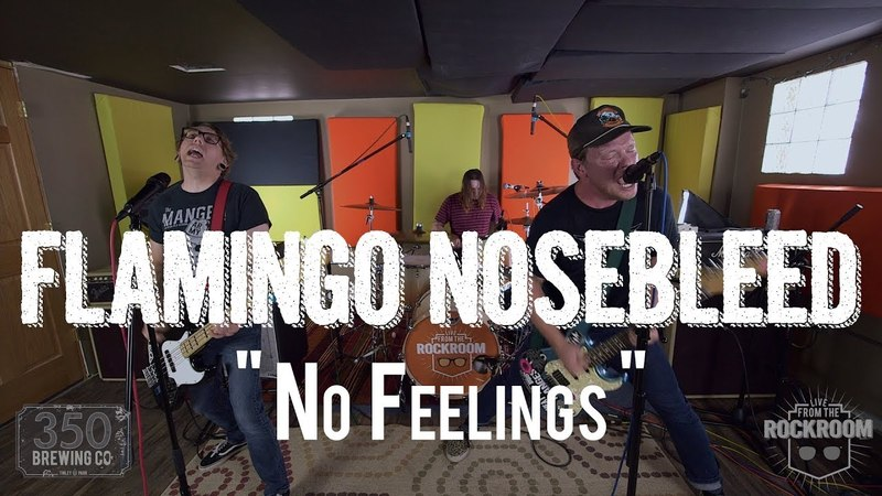 Flamingo Nosebleed - No Feelings (Live! from The Rock Room)