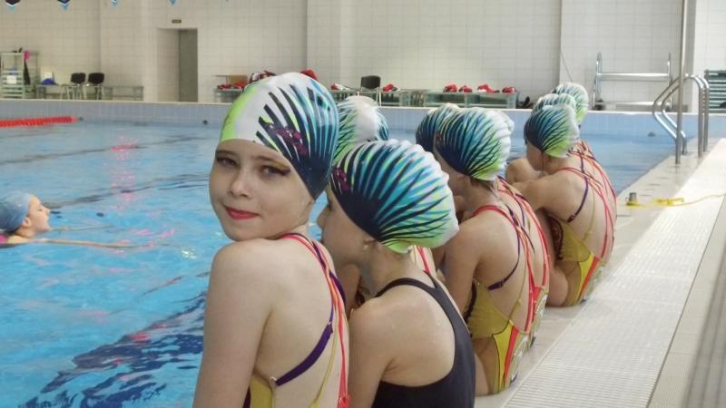 Синхронное плавание | Тренировка | Спортивная школа №3 СПБ