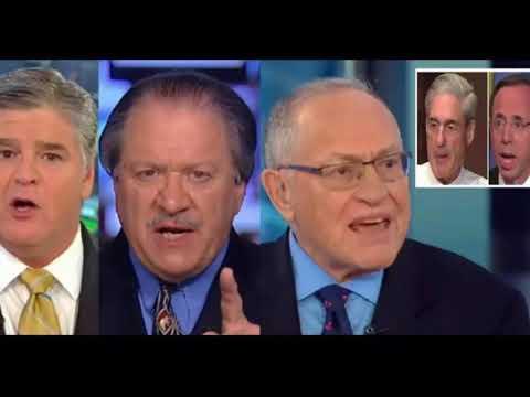 Dershowitz diGenova Appear On Hannity, Wipe Smirks Off Mueller Rosenstein's Faces