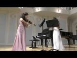Шуберт Лесной царь, исп. Анна Савкина (скрипка) Надежда Герасимова (альт)