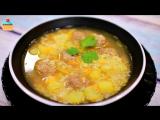 Первые блюда, супы • РИСОВЫЙ СУП С ФРИКАДЕЛЬКАМИ - ну, оОчень вкусный!