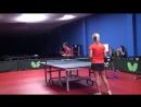 Уроки настольного тенниса на Новой Риге. Урок 1