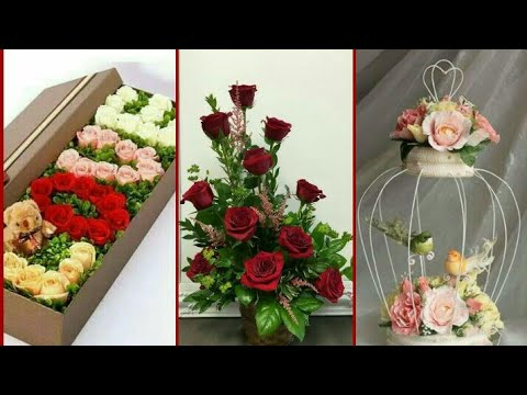 New Flower Arrangement Beautiful Colours Stylish Flower Arrangement