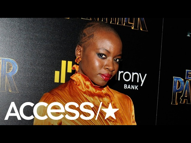 'Black Panther': Danai Gurira Lupita Nyong'o React To Okoye's Viral Wig Fight | Access