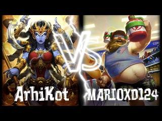 Smite: Grandmaster | Ranked Duel 1vs1 | Kali vs Bacchus