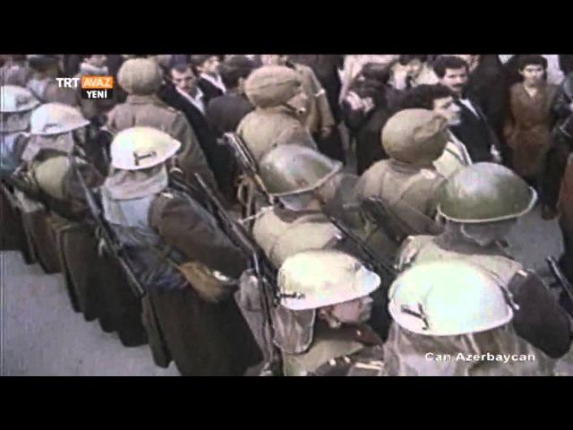 20 Ocak Katliamından Görüntüler - Can Azerbaycan - TRT Avaz
