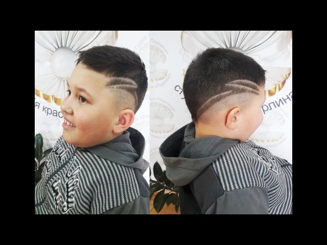 Стильная мужская стрижка. Stylish men's haircut