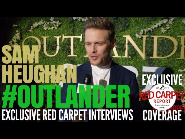Sam Heughan interviewed at Outlander on Starz OutlanderFYC Event in Hollywood