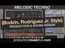 Melodic Techno Production Session with Ableton MINI V3 Stephan Bodzin Rodriguez Jr Style