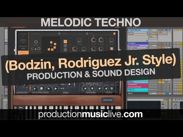 Melodic Techno Production Session with Ableton MINI V3 (Stephan Bodzin, Rodriguez Jr. Style)