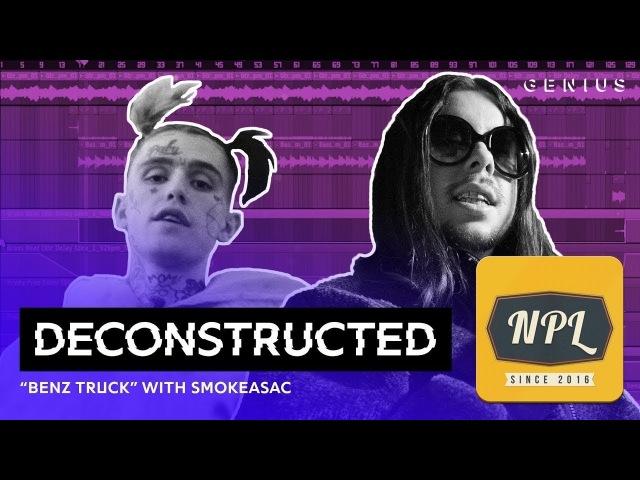 Разбор трека Lil Peep Benz Truck c Smokeasac | Озвучка NPL |