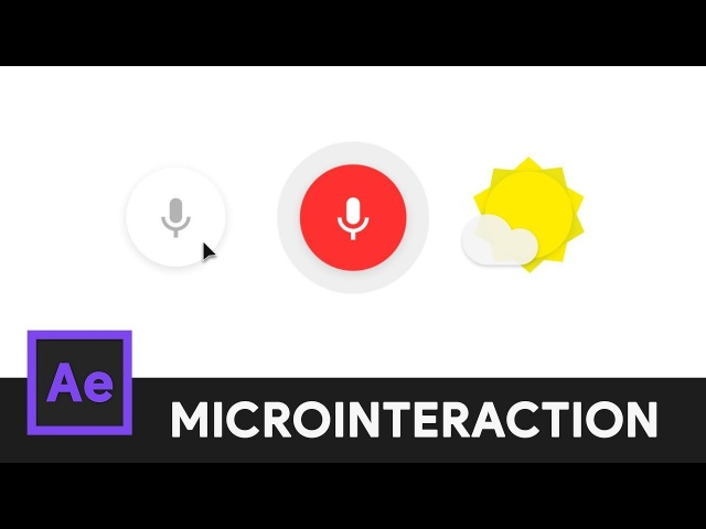 Google Voice Search Icon After Effects Microinteraction 08