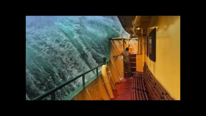 Horrible Moments at Sea | Ship in Storm | Hurricanes | Cyclones