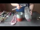 Установка валяной обуви на подошву без прошивки