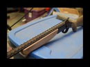 Rifle barrel made from rebar - PART 2. Grip and Shell extractor