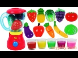 Learn Colors with Fruit Blender Toys Slime Clay Surprise Toys Nursery Rhymes Best Kids Videos