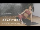 Day 7 Restorative Yoga Flow with Briohny Smyth - 7 Days of Gratitude