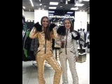 Gold and Silver Ski Suits - Montenapoleone