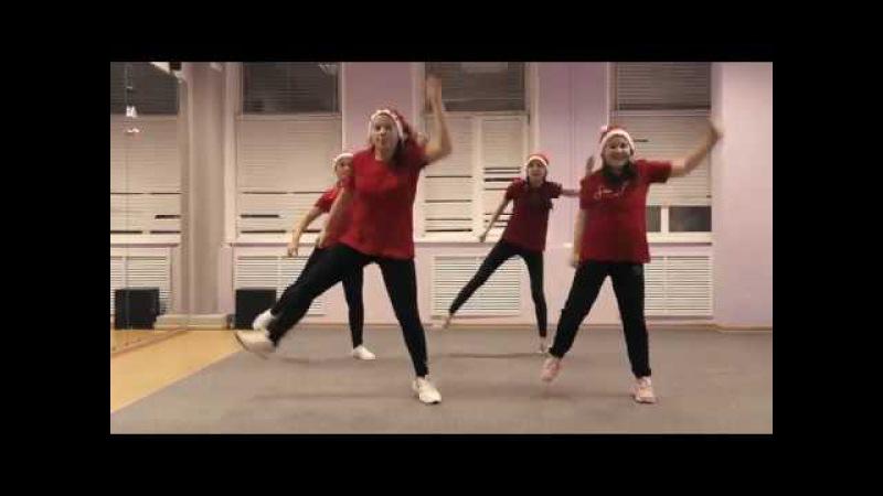 Танец для участия в новогоднем флешмобе
