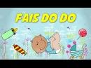 Fais do do (instrumental - lyrics video for karaoke)