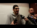 Enes Kanter goes from needing crutches last night to playing today