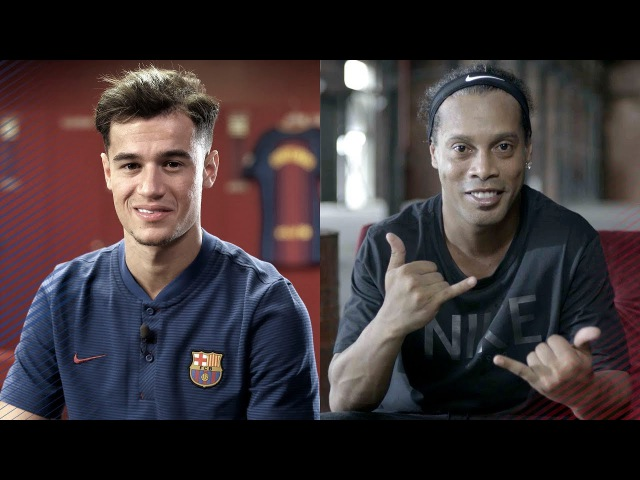 Ronaldinho's advice for Coutinho
