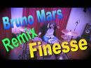 Bruno Mars - Finesse Remix Feat. Cardi B Drum Cover Nikola Drums