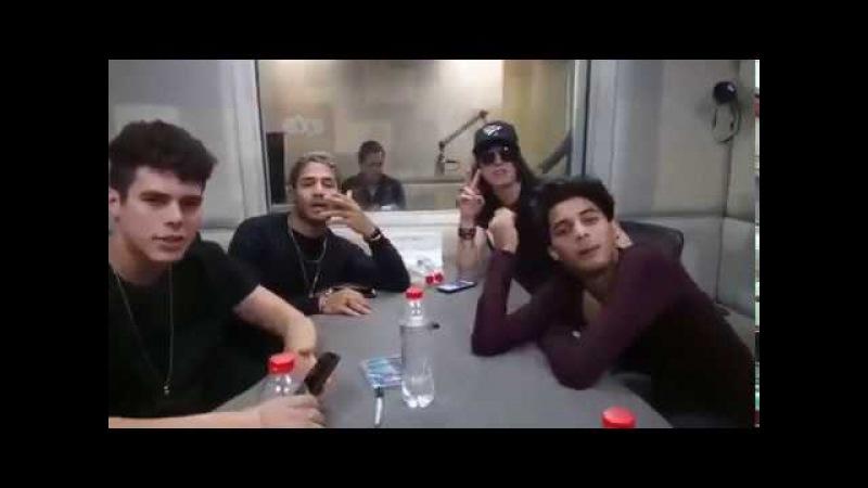 CNCO entrevista en México. ¡Joel tiene asma! ¿Que les atrae de una mujer? ¡Imitando acentos!