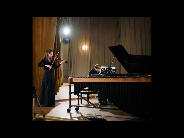И.С.БАХ.Ария.К.БЕЗУГЛОВА(скрипка),А.БОЧКАРЕВ(фортепиано)
