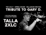 TALLA 2XLC - Tribute to GARY D.
