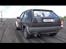 750HP Volkswagen Golf 2 1.8L 20V Turbo - HUGE ANTI-LAG SOUNDS!