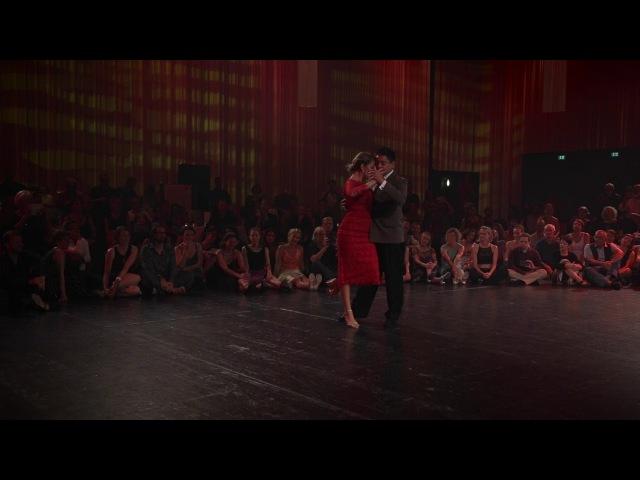 Noelia y Carlitos Tango en Punta Bregenz 2017