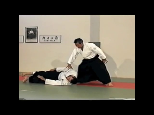 Морихиро Сайто Сенсей Ирими наге Morihiro Saito Sensei Irimi nage