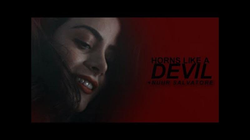 Horns like a devil l multifemales (nuur salvatore) (HBD ALVARO!)
