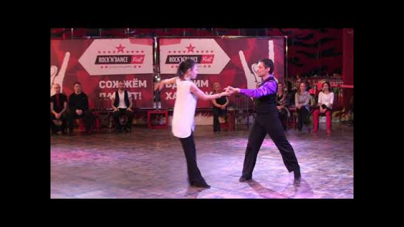 Хастл. Rock'n'Dance Cup-2018. DnD MainStar. Воробьев Степан - Дараева Наталья. Slow