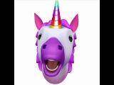 Unicorn Animoji Karaoke singing Erasure's Always