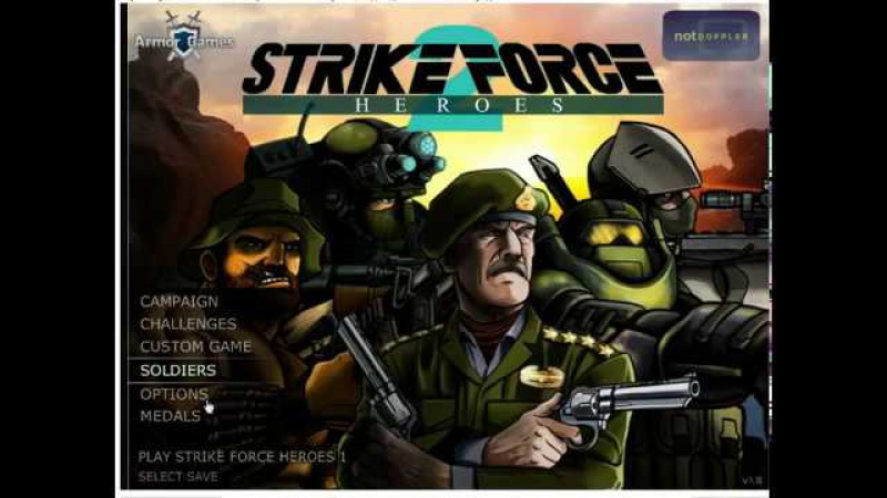 Герои ударного отряда 2 (Strike Force Heroes 2) №1