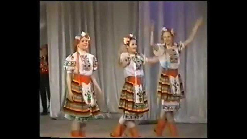 Ансамбль Буратино Украинский народный танец Гопак 2005г
