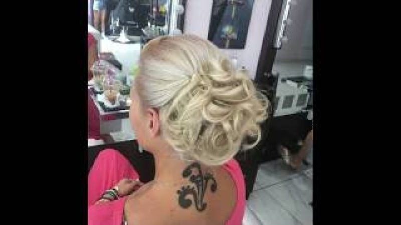 Wedding / hair up / up do / formal hairstyle / divine art hair salon / Antreas Divine