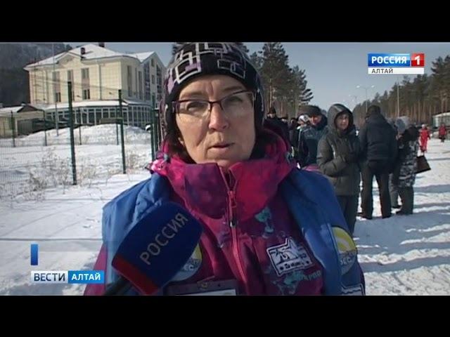 На «Бирюзовой Катуни» провели самую массовую в Алтайском крае гонку ездовых собак