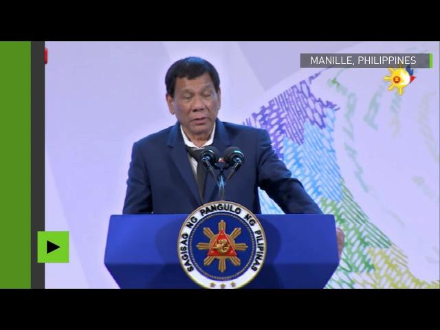 (189) «Ne venez pas me faire chier avec la souveraineté de mon pays», Duterte met L'UE en garde - YouTube