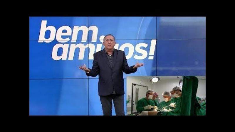 Galvão Bueno narra cirurgia de Neymar (bem amigos)